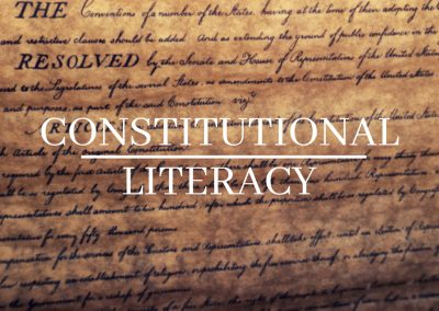 GOV 100 Constitutional Literacy